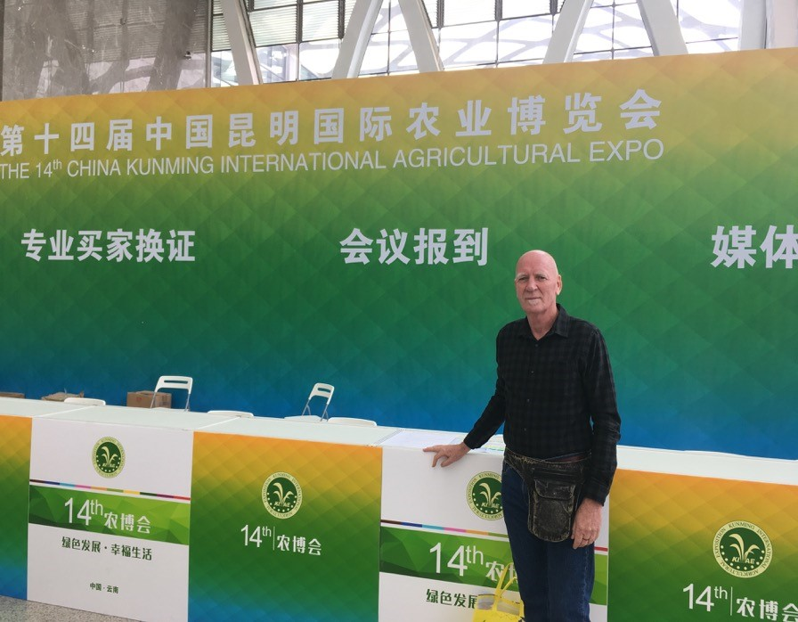Gary Attril in China